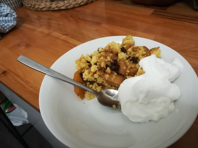 Apple Crumble :)