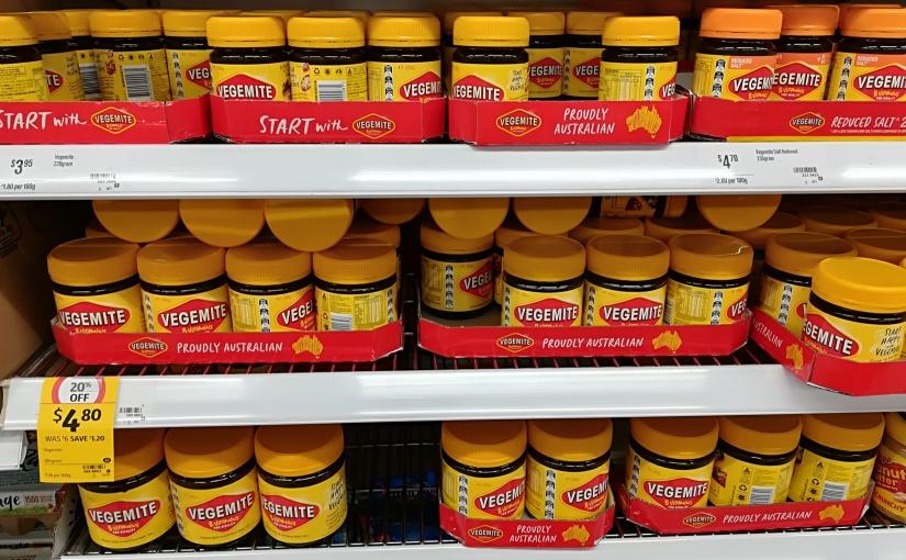 Vegemite .. czyli przysmak każdego Australijczyka:)