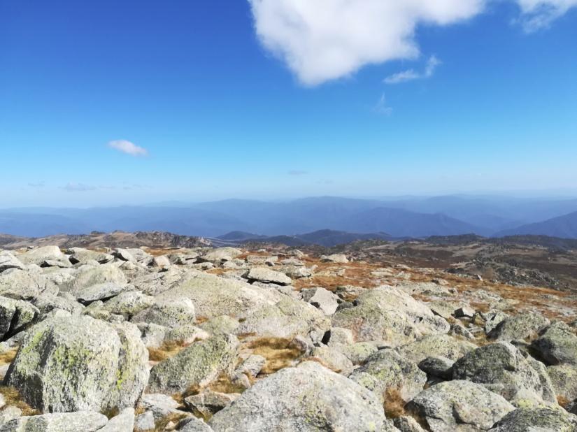 Na dachu Australii : Góra Kościuszki 2228 mn.p.m.